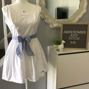 Abercrombie and Fitch eyelet dress size 10